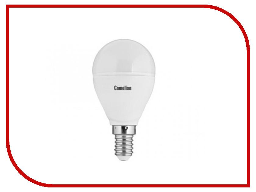 Лампочка Camelion G45 7.5W 220V E14 4500K 680 Lm LED7.5-G45/845/E14<br>