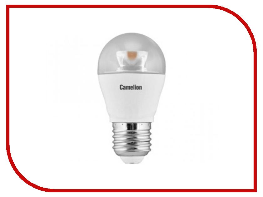 Лампочка Camelion G45 7.5W 220V E27 3000K 615 Lm LED7.5-G45-CL/830/E27<br>