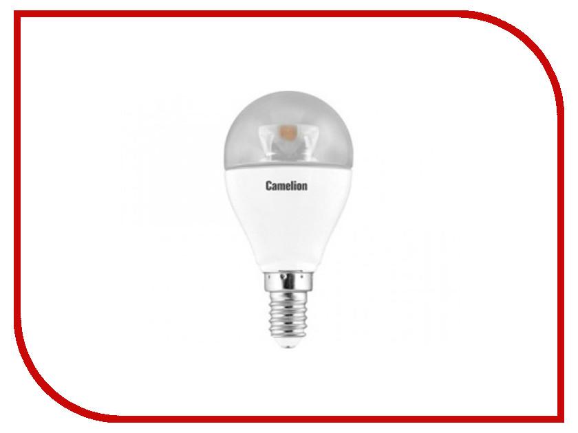 Лампочка Camelion G45 7.5W 220V E14 4500K 645 Lm LED7.5-G45-CL/845/E14<br>