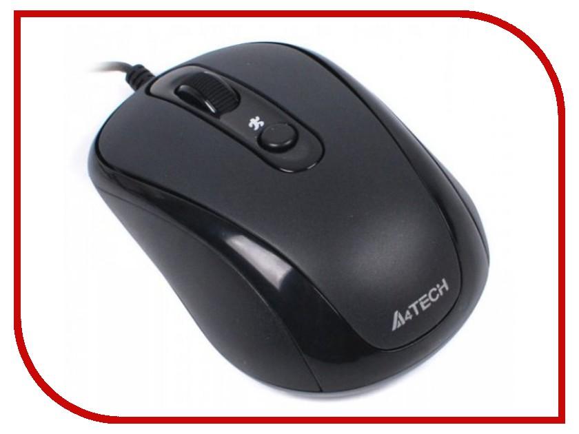 Мышь проводная A4Tech N-250X-1 Black USB<br>