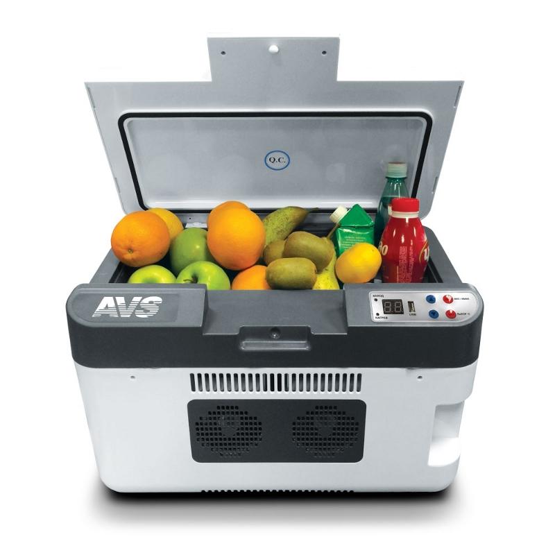 Холодильник автомобильный AVS CC-24WBC 24L A80972S цена 2017