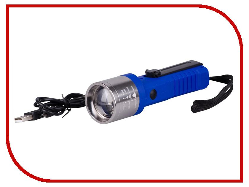 Фонарь LED L802 1 Blue<br>
