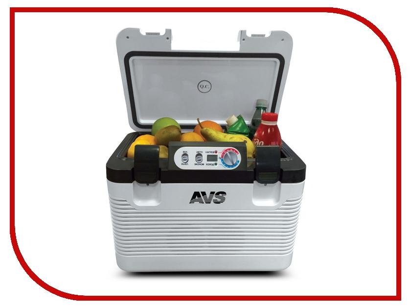 Холодильник автомобильный AVS CC-19WBC 19L A80971S шторы haft нитяные шторы deniz цвет белый