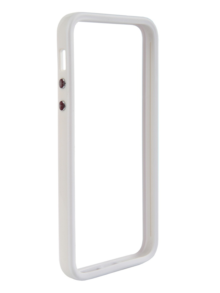 Аксессуар Чехол-бампер Nobby for iPhone 5/5S BM-001 White