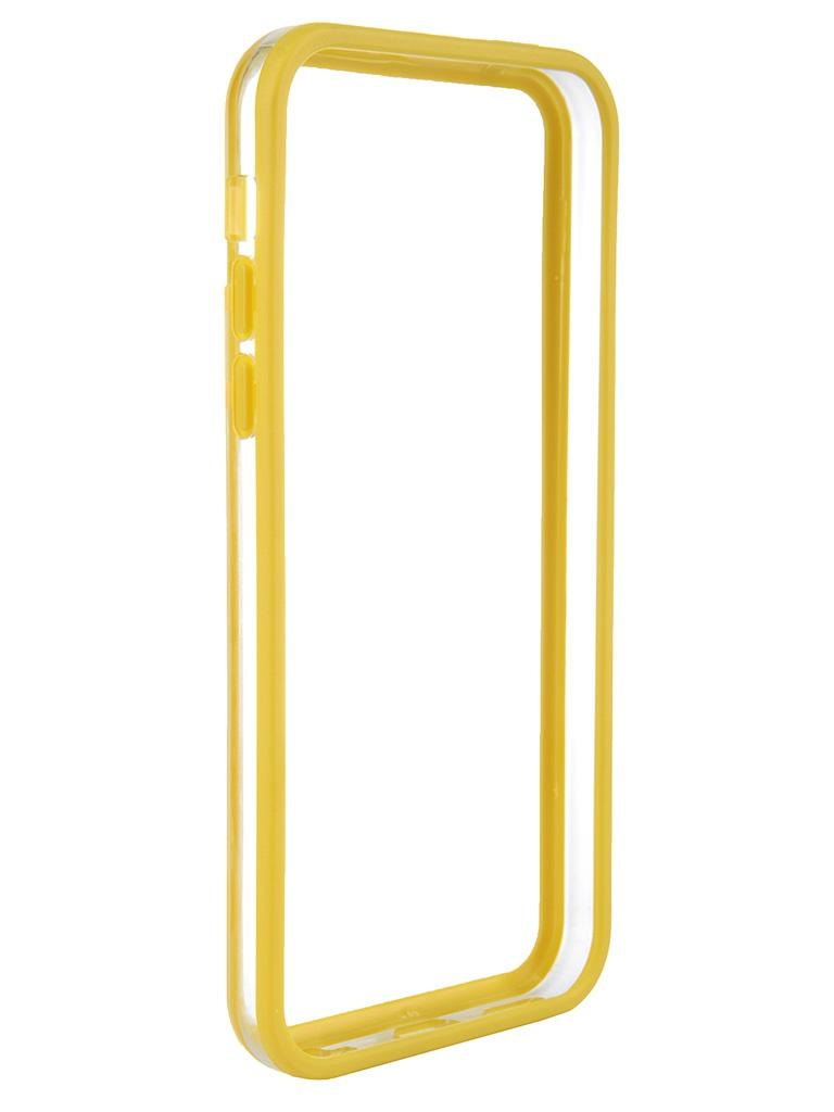 Аксессуар Чехол-бампер Nobby Practic BM-001 for iPhone 5C Yellow