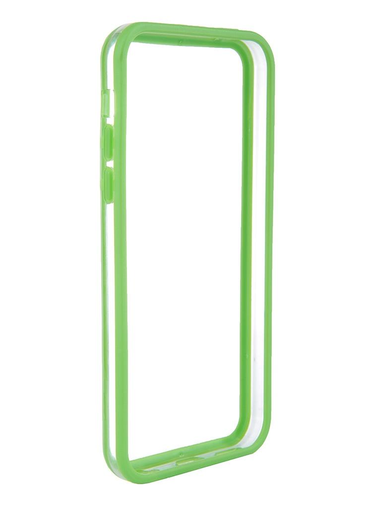 Аксессуар Чехол-бампер Nobby Practic BM-001 for iPhone 5C Green
