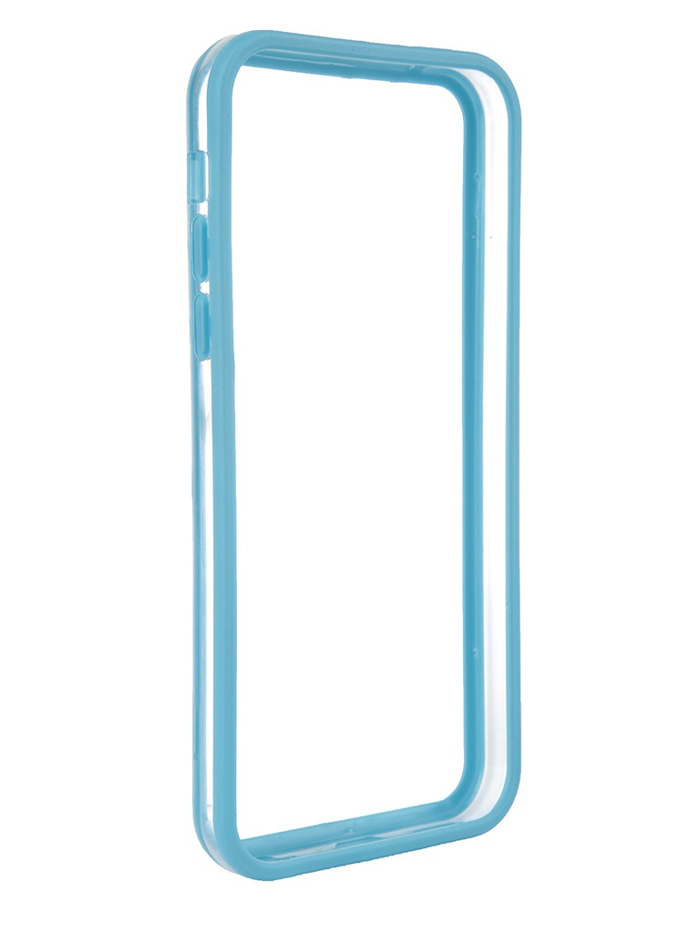 Аксессуар Чехол-бампер Nobby Practic BM-001 for iPhone 5C Blue