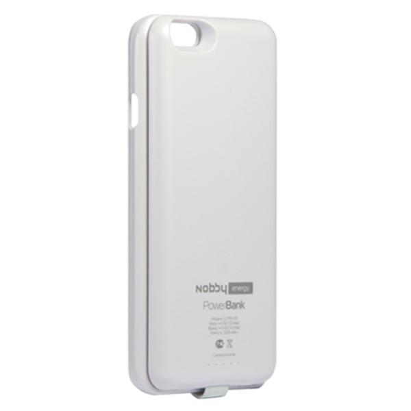 Аксессуар Чехол-аккумулятор Nobby Energy for iPhone 6 CCPB-001 White
