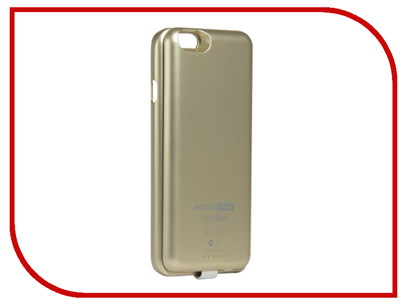 ��������� �����-����������� Nobby Energy ��� iPhone 6 CCPB-001 Gold