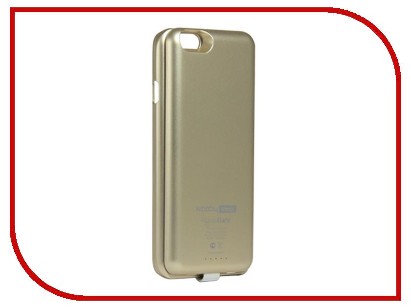 Аксессуар Чехол-аккумулятор Nobby Energy для iPhone 6 CCPB-001 Gold<br>