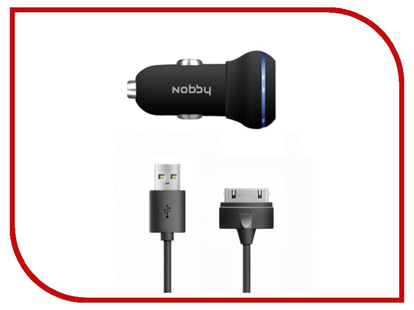 Зарядное устройство Nobby Energy USB 1A + 30pin AC-001 Black<br>