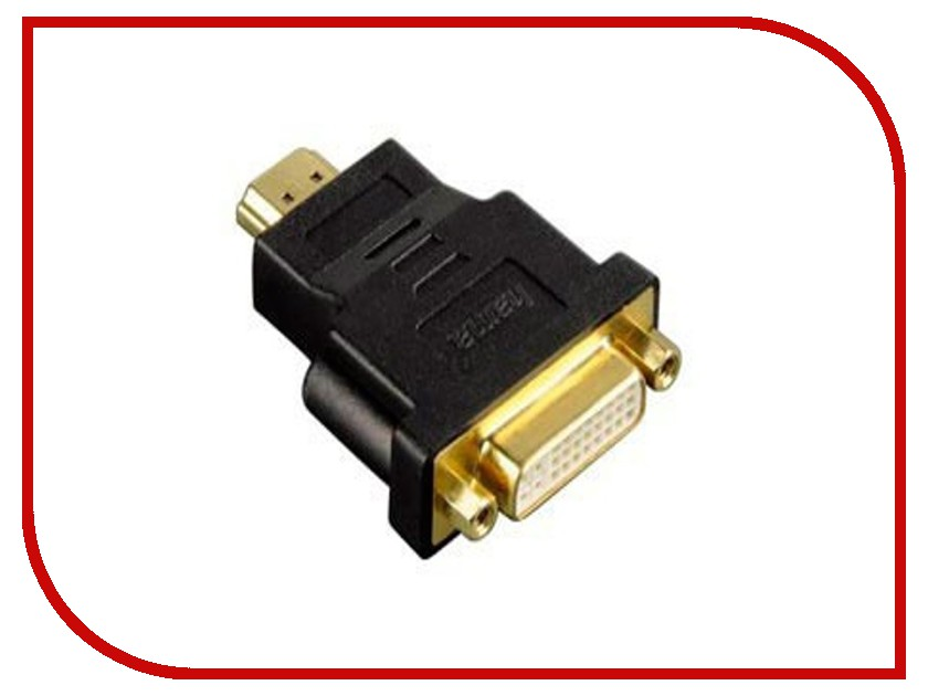 Аксессуар Hama HDMI to DVI-D Adapter H-34036<br>