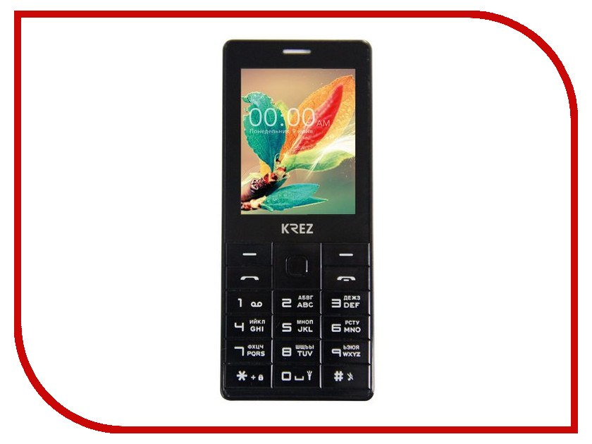 Сотовый телефон KREZ PL202B DUO ноутбук cloudbook krez n1401