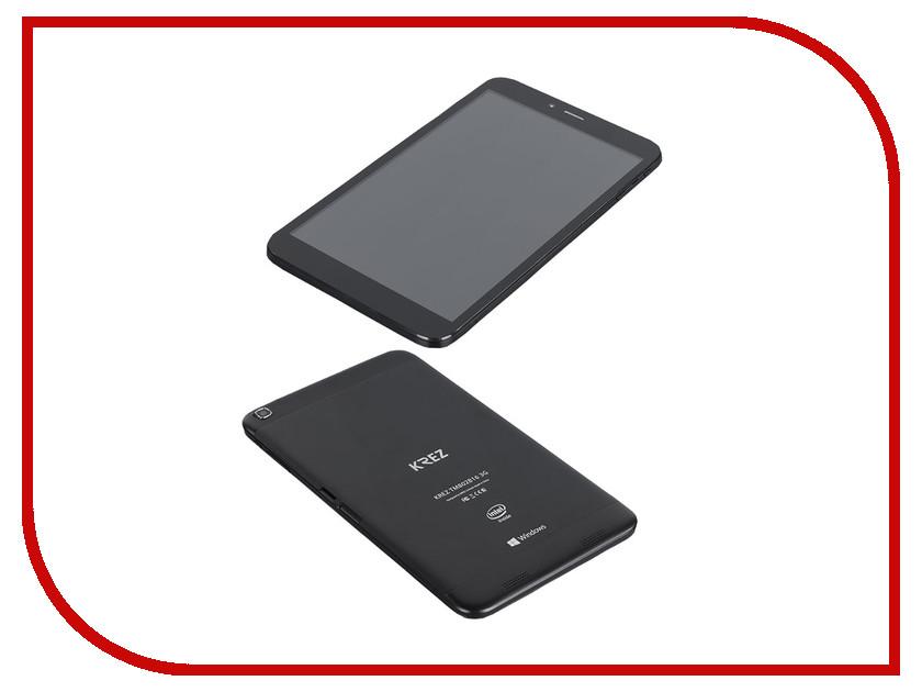 Планшет KREZ TM802B16 3G 30020778 (Intel Atom Z3735G 1.33 GHz/1024Mb/16Gb/Wi-Fi/3G/Bluetooth/GPS/Cam/8.0/1280x800/Windows 8)<br>