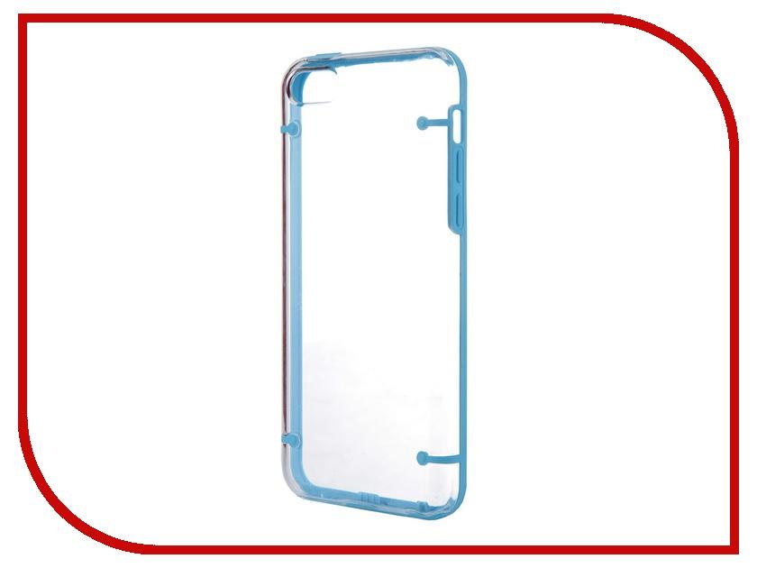Аксессуар Чехол Nobby Practic CC-004 для iPhone 5С Blue<br>