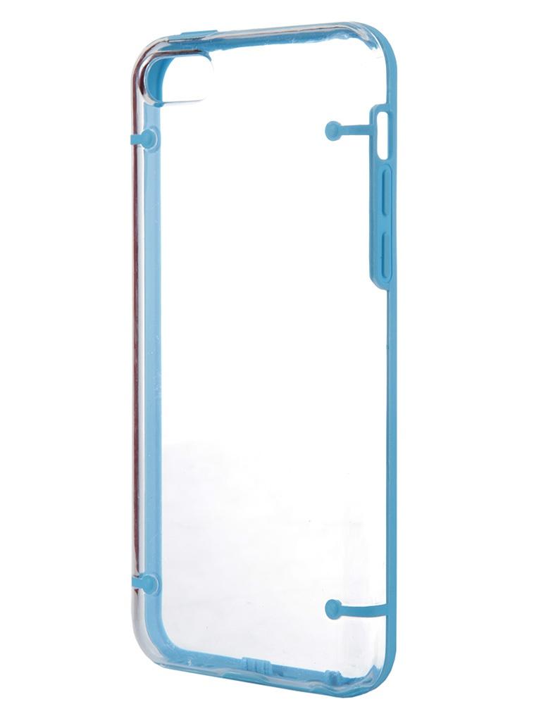 Аксессуар Чехол-накладка Nobby Practic CC-004 для iPhone 5С Blue