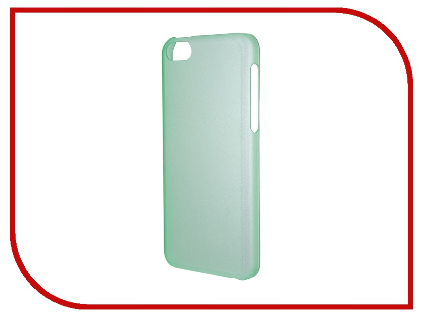 Аксессуар Чехол-накладка Nobby Practic CC-002 для iPhone 5С Green<br>