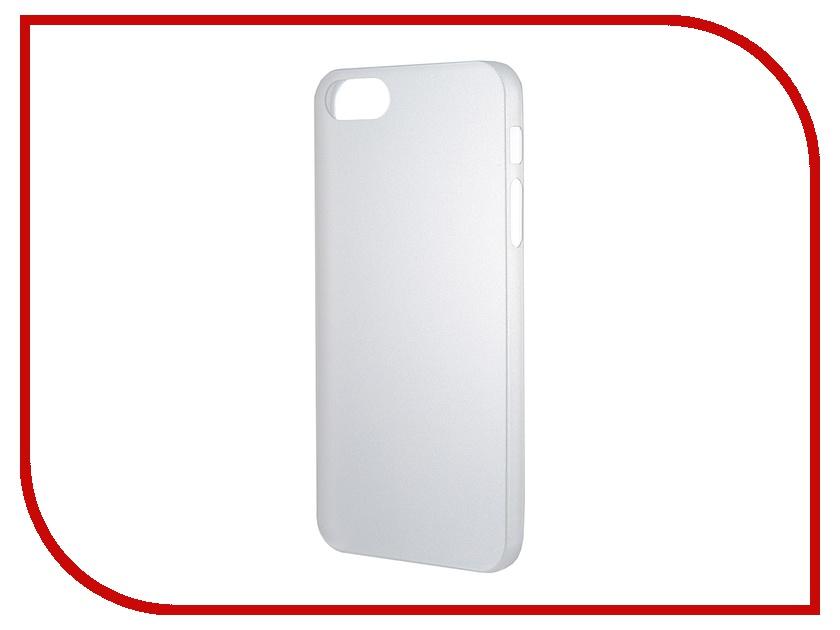 Аксессуар Чехол-накладка Nobby Practic CC-001 для iPhone 5/5S White