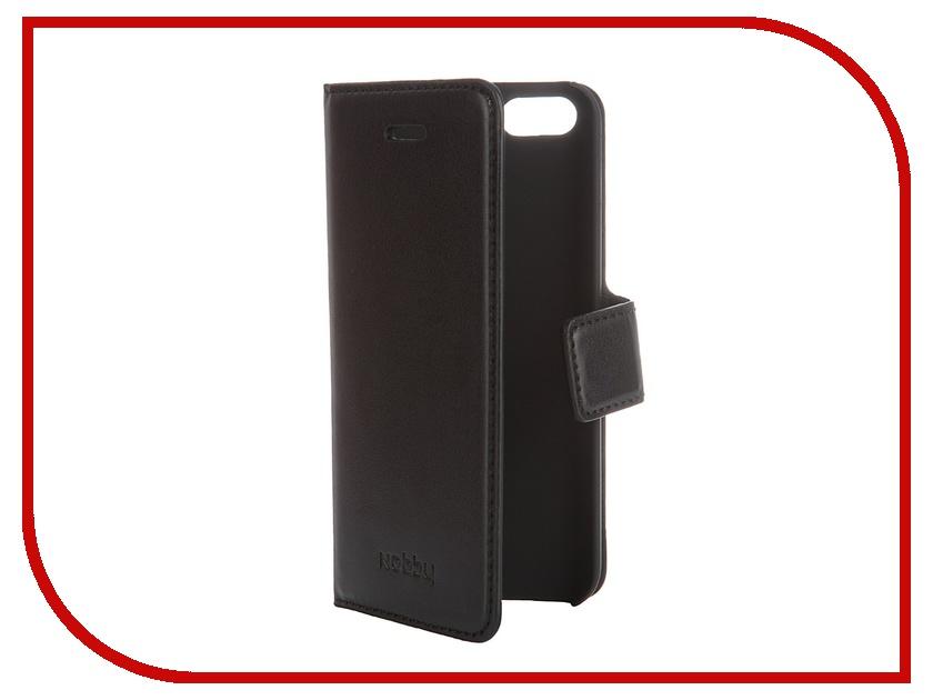 Аксессуар Чехол-книжка Nobby Comfort CB-002 для iPhone 5/5S Black 07639<br>