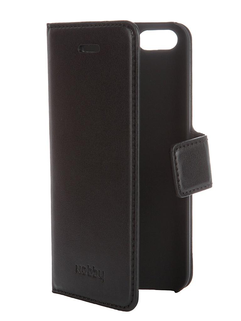 Аксессуар Чехол-книжка Nobby Comfort CB-002 для iPhone 5/5S Black 07639