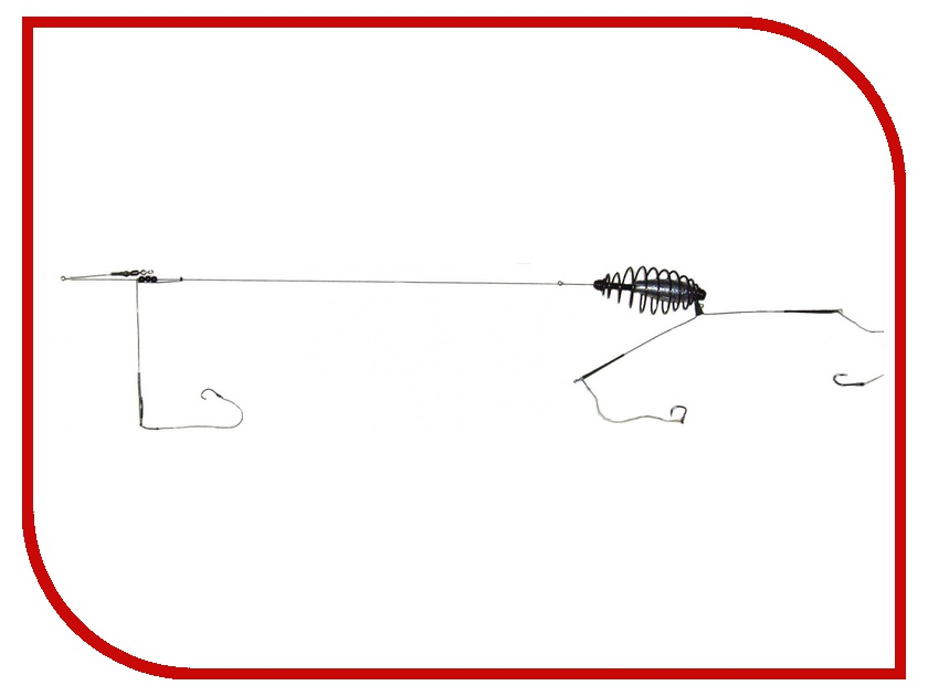 Кормушка Deepriver 25гр, крючок №4 OD-03-025-04