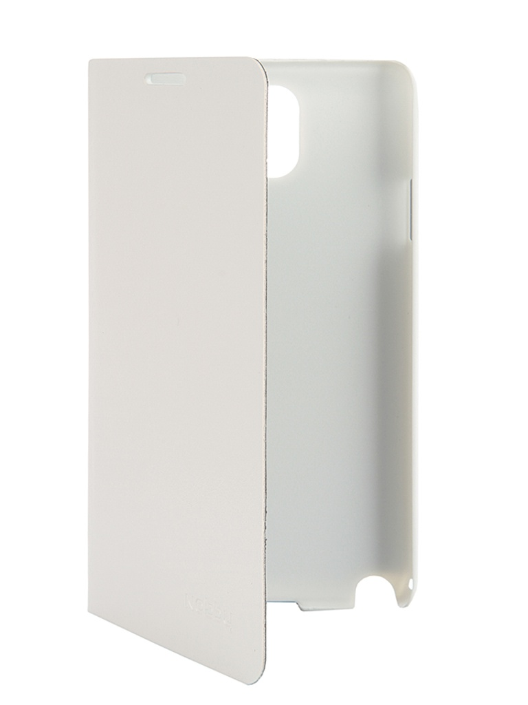 Аксессуар Чехол-книжка Nobby Comfort CB-003 для Samsung Galaxy Note 3 White