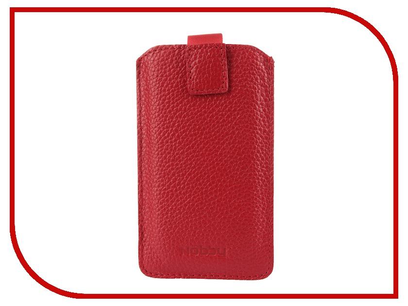 Аксессуар Чехол Nobby Comfort WM-001 универсальный L иск. кожа Red<br>