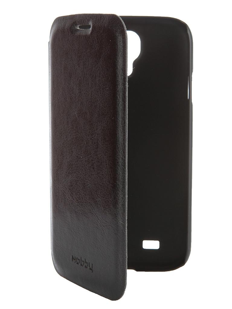 Аксессуар Чехол-книжка Nobby Comfort CB-001 для Samsung Galaxy S 4 Black