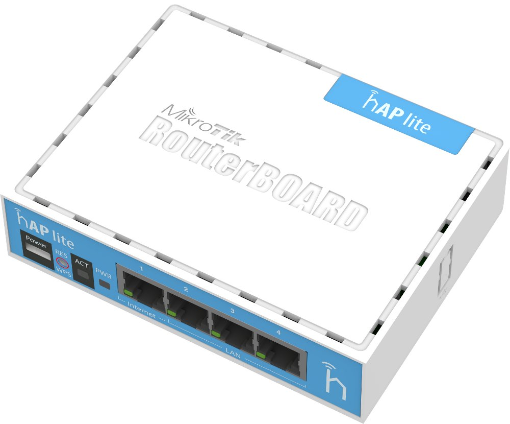 Wi-Fi роутер MikroTik hAP Lite RB941-2nD