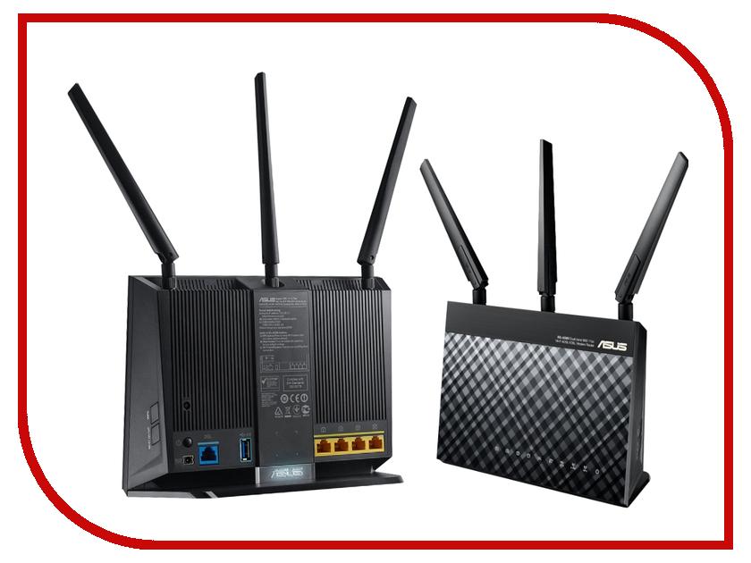 Wi-Fi роутер ASUS DSL-AC68U ge 76246 dsl filter phone line