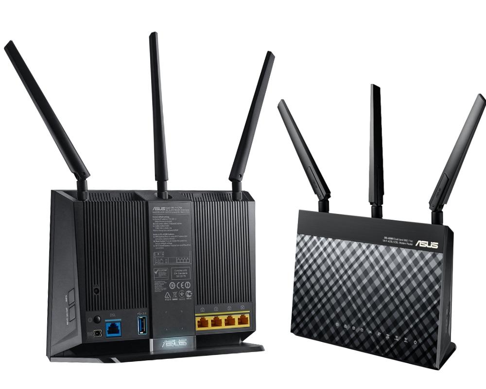 Wi-Fi роутер ASUS DSL-AC68U цена