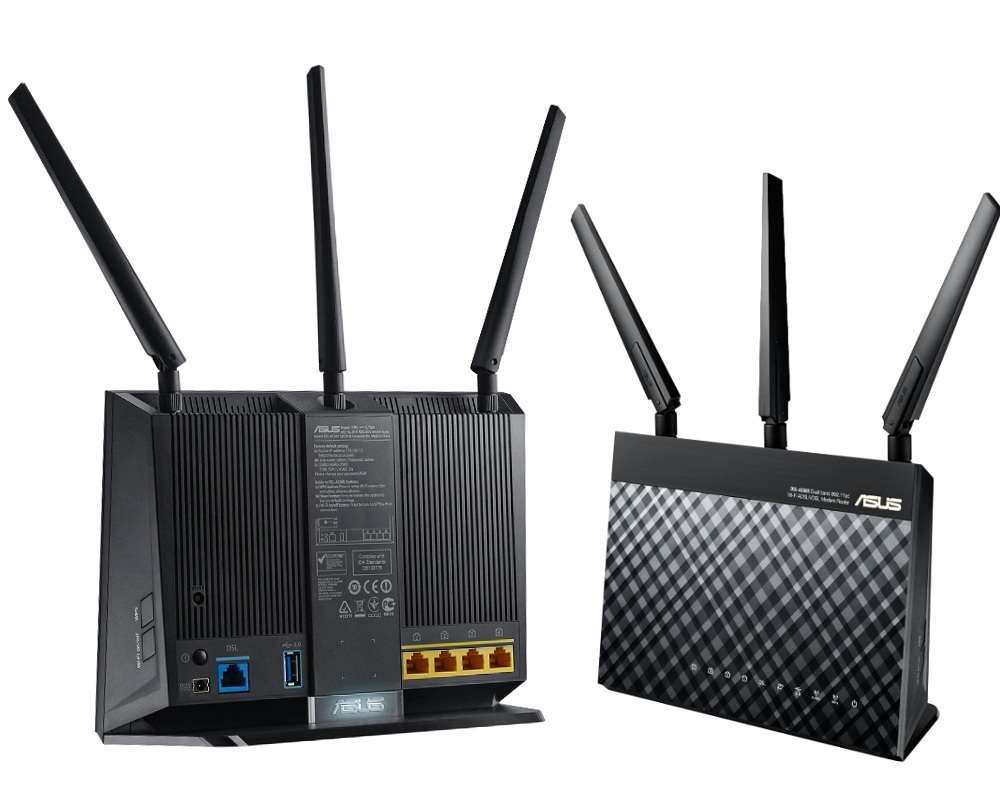 Wi-Fi роутер ASUS DSL-AC68U
