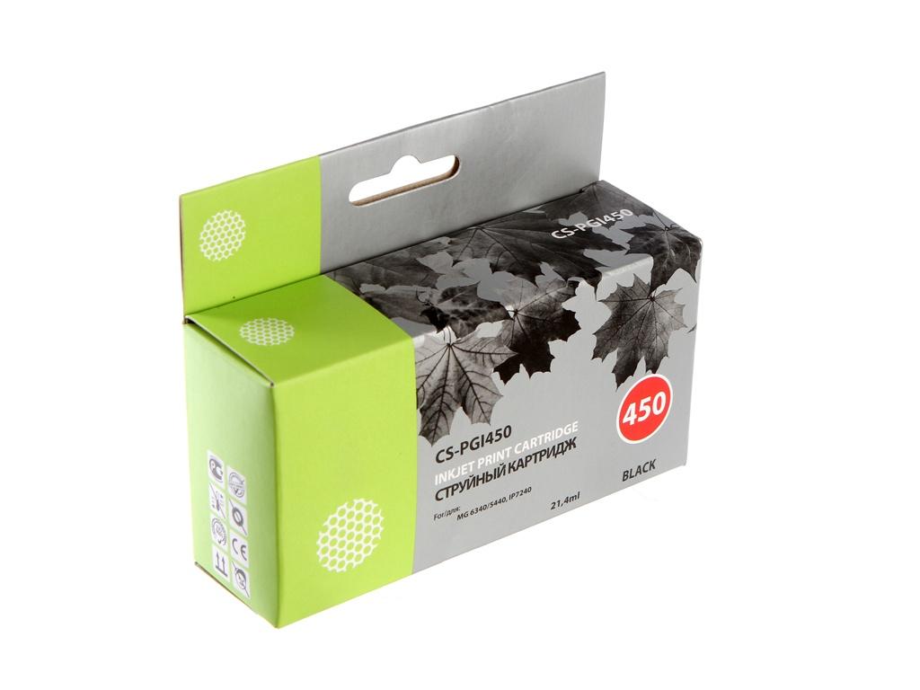 цена на Картридж Cactus CS-PGI450 для Canon MG 6340/5440 IP7240 Black