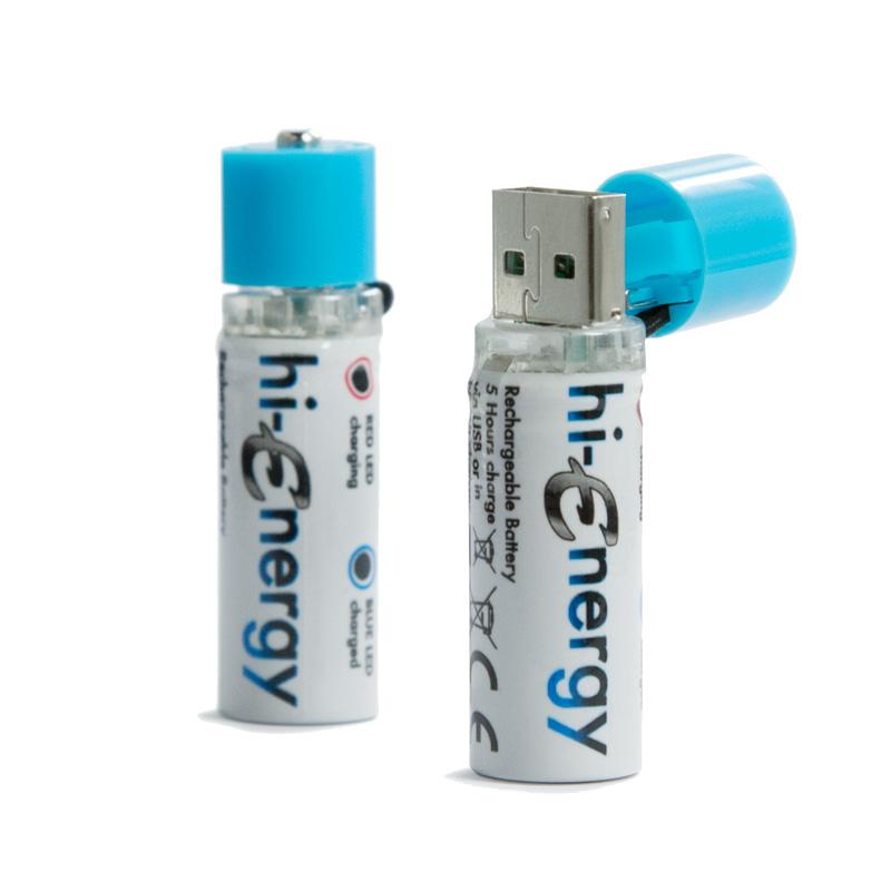 Аккумулятор AA - Hi-Fun hi-Energy 1450 mAh Ni-MH HFHIENERGY-2 (2 штуки)