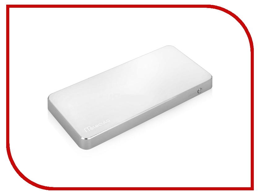 ����������� Molecula 10000 mAh PB-10-01SLW White