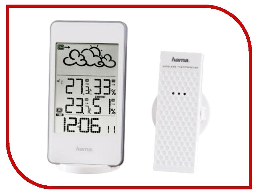 Погодная станция Hama EWS-860 White H-123125 hama h 108741 white