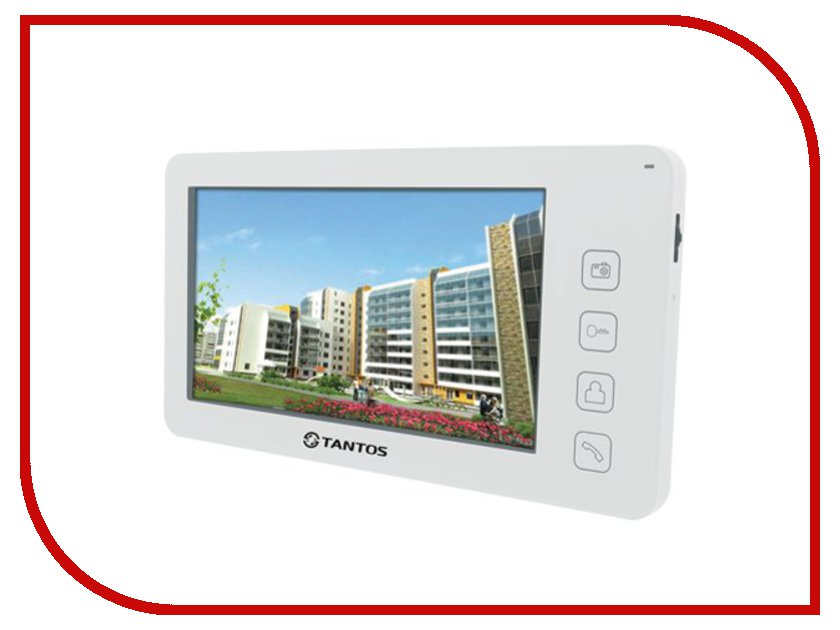 Видеодомофон Tantos Prime White