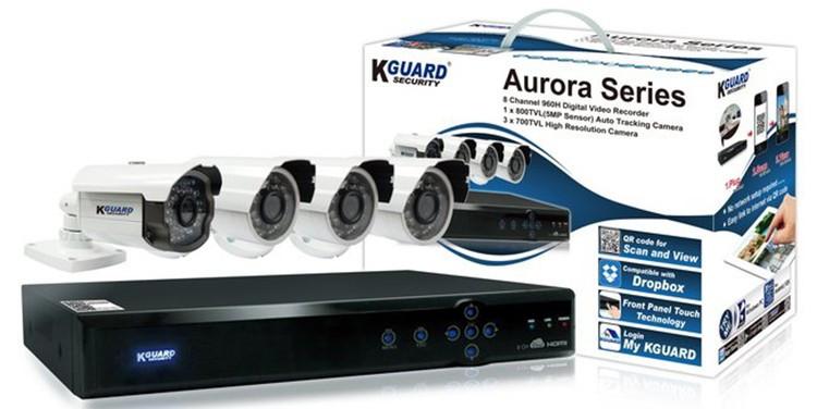 Видеонаблюдение KGuard Aurora AR821-CKT001
