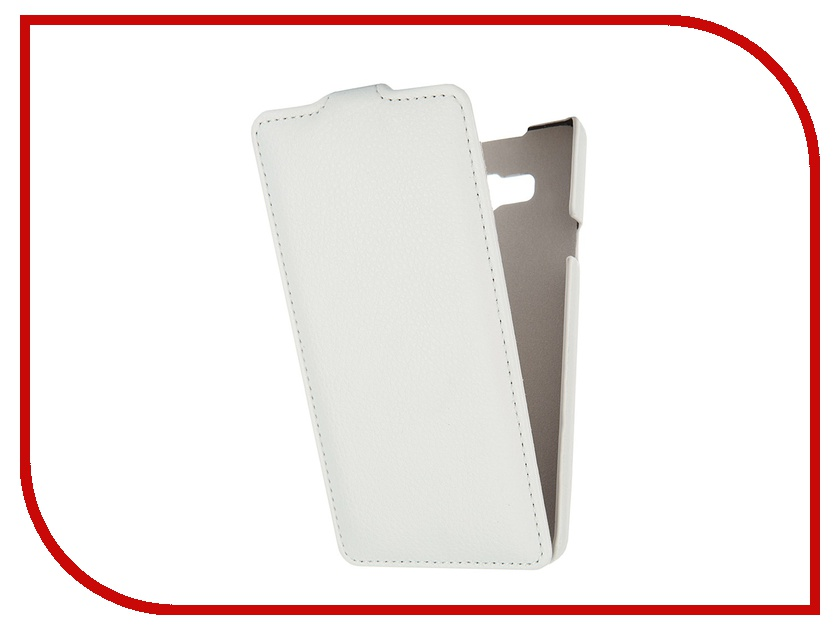 Аксессуар Чехол Samsung Galaxy A7 Ainy кожаный White