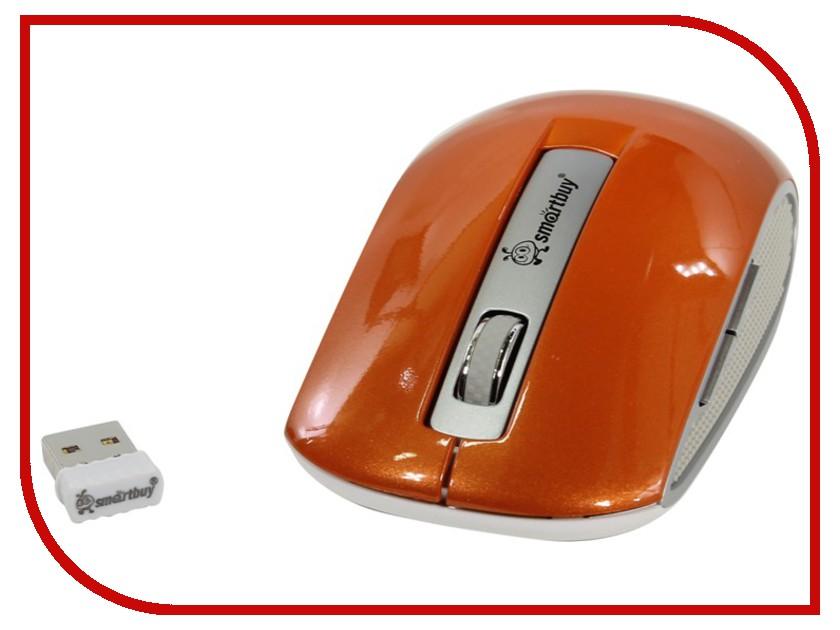 Мышь беспроводная SmartBuy 506AG Orange SBM-506AG-O USB<br>