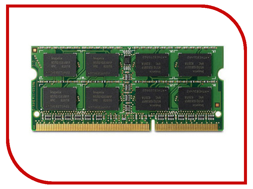 Модуль памяти Transcend DDR3 SO-DIMM 1600MHz PC3-12800 - 8Gb TS1GSK64V6H