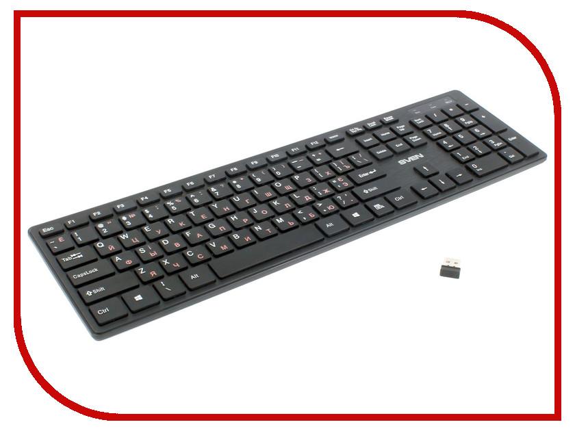Клавиатура Sven Elegance 5800 Wireless Black USB