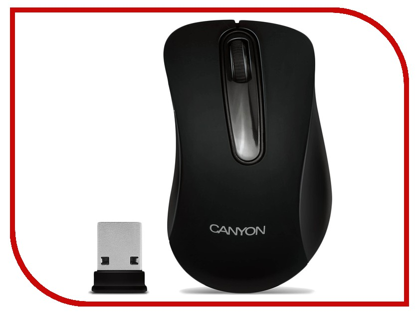 Мышь Canyon CNE-CMSW2 USB Black canyon мышь canyon cne cms1