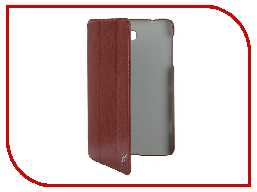 Аксессуар Чехол Samsung Galaxy Tab 4 8.0 G-Case Slim Premium Brown GG-360