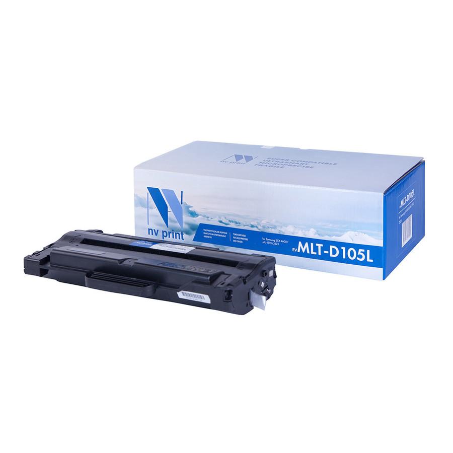 Картридж NV Print MLT-D105L для SCX 4600/ML-1910/2525 картридж easyprint ls 105l для samsung ml 1910 2525 scx 4600 4623 чёрный 2500 страниц с чипом mlt d105l