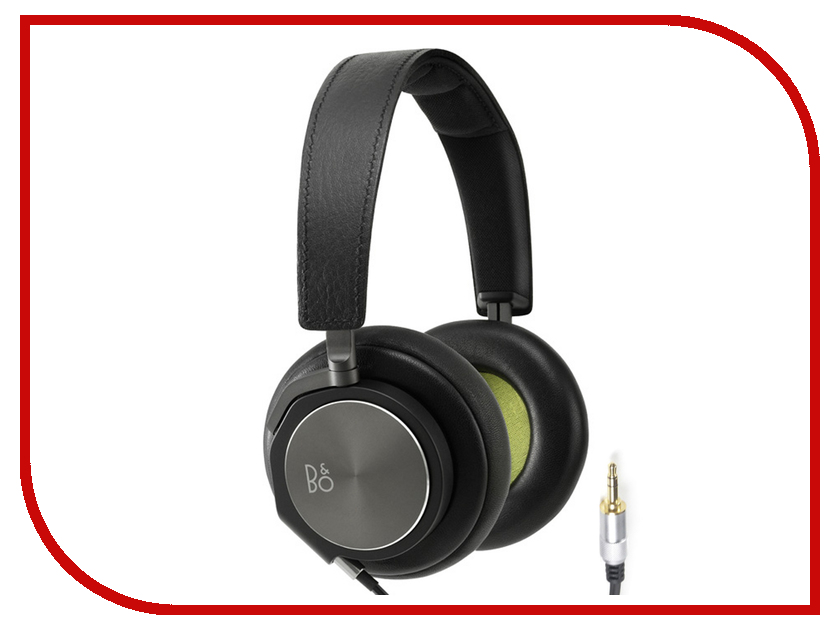 Наушники Bang &amp; Olufsen BeoPlay H6 Black Leather<br>