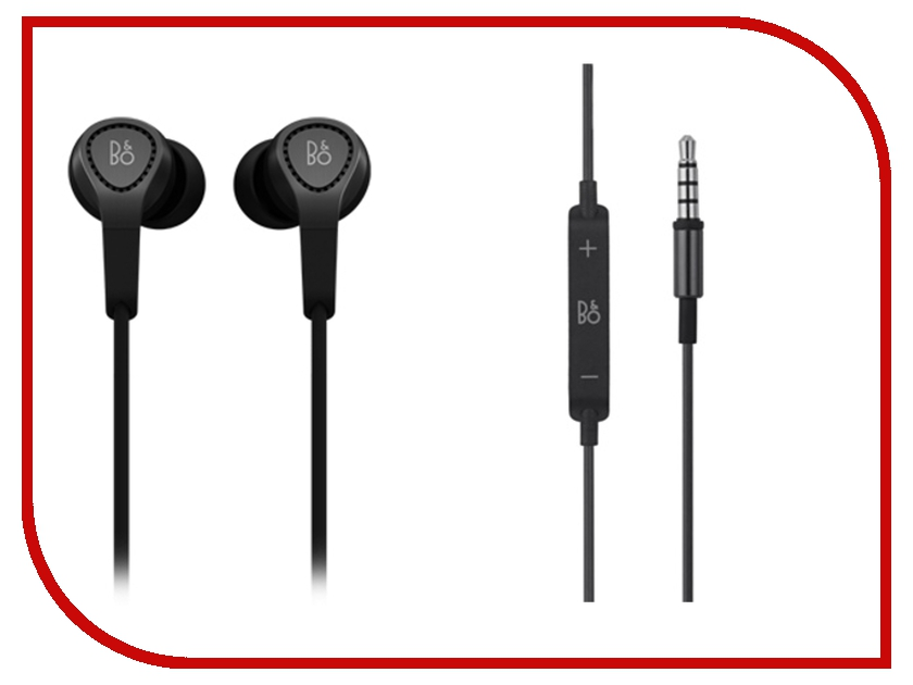 Гарнитура Bang & Olufsen BeoPlay H3 Black