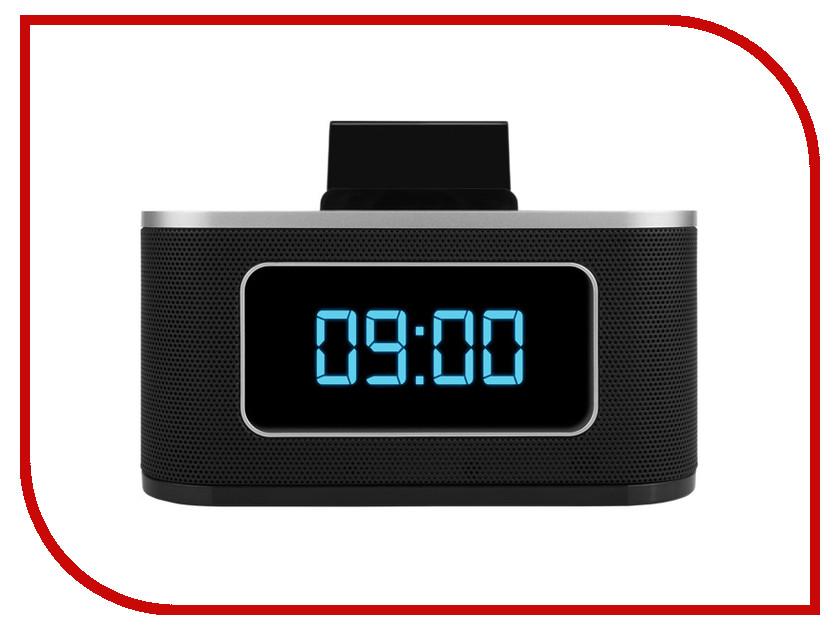 цена Часы teXet TRC-307 Black онлайн в 2017 году