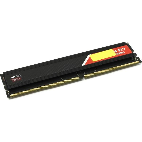 Модуль памяти AMD DDR4 DIMM 2400MHz PC4-19200 - 4Gb R744G2400U1S-O