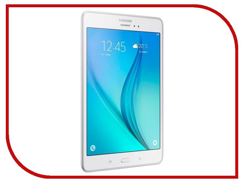 Планшет Samsung SM-T350 Galaxy Tab A 8.0 - 16Gb Wi-Fi White SM-T350NZWASER Quad Core 1.2 GHz/1536Mb/16Gb/GPS/Wi-Fi/Bluetooth/Cam/8.0/1024x768/Android